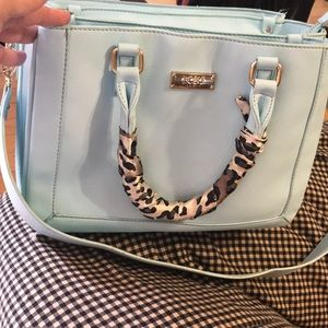BCBG Baby Blue Purse